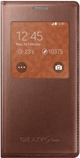 Чехол Samsung для S5 mini EF-CG800BFEGRU Rose Gold