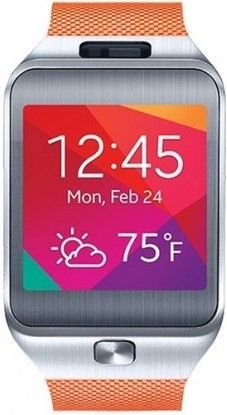Смарт часы Samsung Gear2 SM-R3800 Metallic Orange