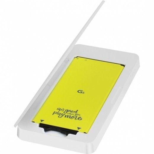 Гибридная зарядная станция LG BCK-5100 (для LG G5) White (BCK-5100.AGRAWH)