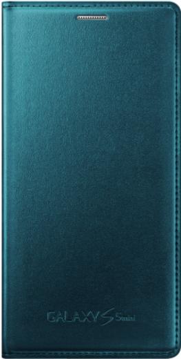 Чехол Samsung для S5 mini EF-FG800BGEGRU Green