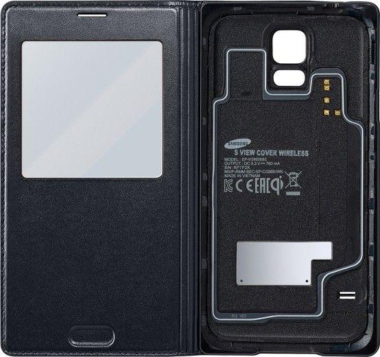 Чехол Samsung для беспроводной зарядки Samsung Galaxy S5 Black (EP-VG900BBRGRU)