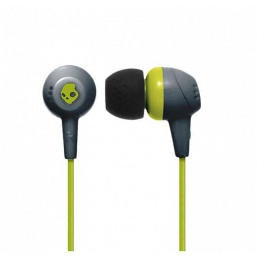 Навушники Skullcandy JIB Gray/Hot Lime (S2DUFZ-385)