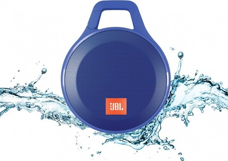 Портативная акустика JBL Clip+ Blue (CLIPPLUSBLU)