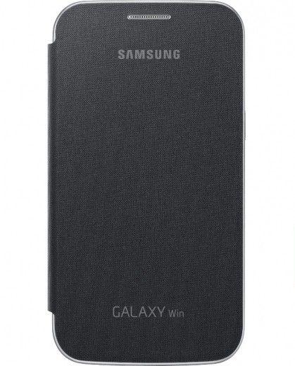 Чехол-книга Samsung для Galaxy Win I8552 Gray (EF-FI855BSEGWW)