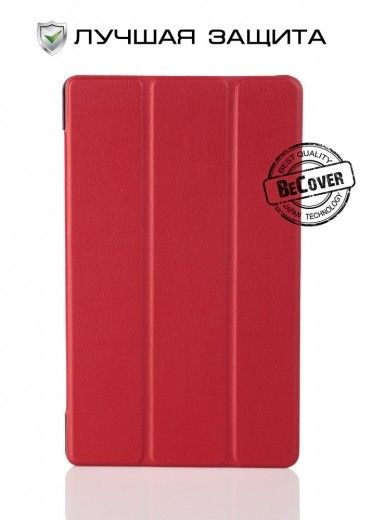Чехол-книжка BeCover Smart Case для Samsung Tab A 8.0 T350/T355 Red