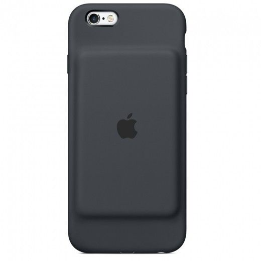 Чехол-аккумулятор Apple Smart Battery Case Charcoal Gray (MGQL2) для iPhone 6s