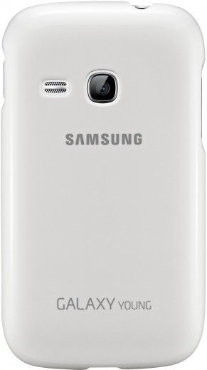 Накладка Samsung для Galaxy Young S6312 White (EF-PS631BWEGWW)