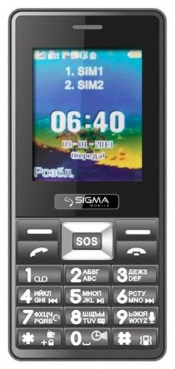 Мобильный телефон Sigma mobile X-treme PR67 City