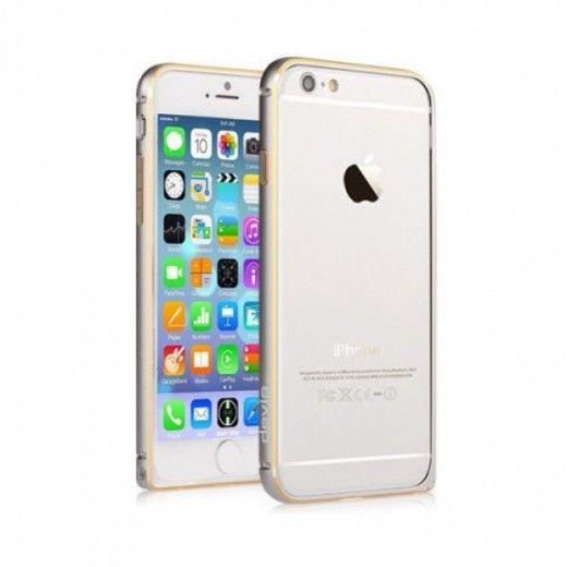 Бампер Devia для iPhone 6 Buckle Curve Silver (a-3531)