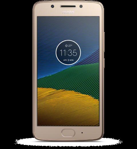 Мобильный телефон Motorola Moto G5 (XT1676) Gold (PA610071UA)