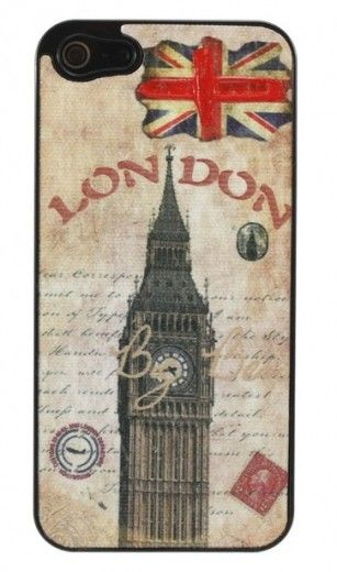 Накладка Perfektum Art series iPhone 5 London