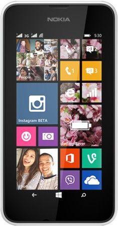 Мобильный телефон Nokia Lumia 530 Dual Sim White