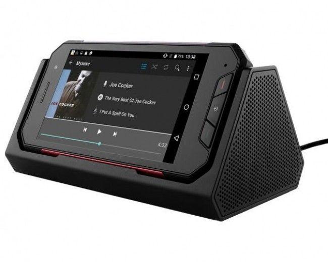 Зарядный кредл/ Bluetooth стерео колонка Р16 для Sigma mobile X-treme PQ27