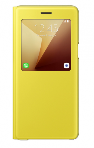 Чехол Samsung S View Cover для Samsung Galaxy Note 7 Yellow (EF-CN930PYEGRU)