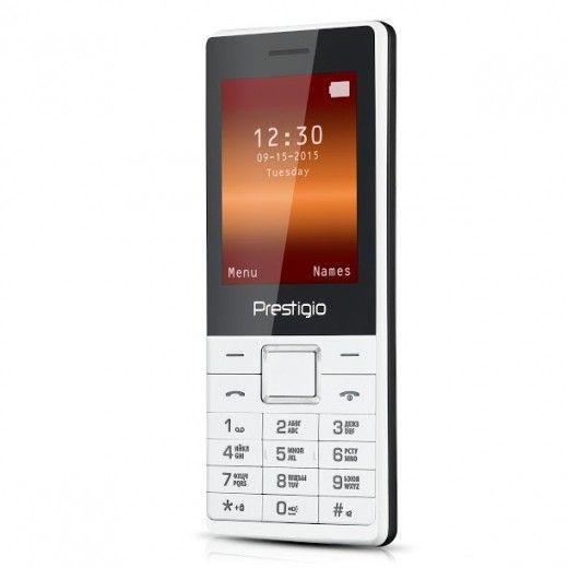 Мобильный телефон Prestigio 1241 DS White