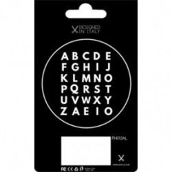 Мини-липучки GoPhilo Expansion Pack Patch Letters Case для чехла iPhone 6/6S (PH013AL) (8055002390750)
