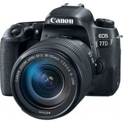 Фотоаппарат Canon EOS 77D EF-S 18-135mm IS USM Kit Black (1892C024)
