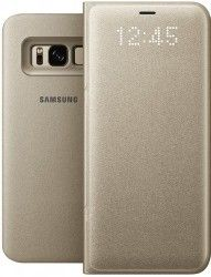 Чехол-Книжка Samsung View Cover S8 Gold (EF-NG950PFEGRU)