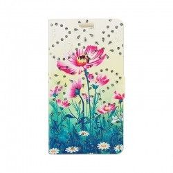 Чехол-Book Cover Cath Kidston with diamonds Lenovo A5000 Green