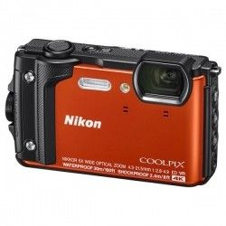 Фотоаппарат Nikon Coolpix W300 Orange (VQA071E1)