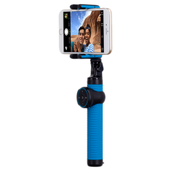 Монопод для селфі MOMAX Selfie Hero Bluetooth Selfie Pod 100cm Blue/Black (KMS7D)