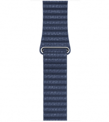 Ремешок Leather Loop для Apple Watch 42мм (MLHL2/MLHM2) Bright Blue