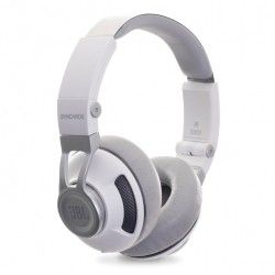 Наушники JBL On-Ear Headphone Synchros S300a White/Silver (SYNOE300AWNS)