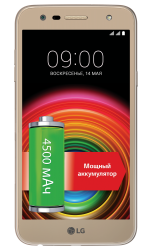 Смартфон LG X power 2 M320 (M320.ACISKG) Gold