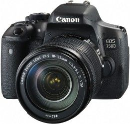 Фотоаппарат Canon EOS 750D EF-S 18-135mm IS STM Kit (0592C034AA)