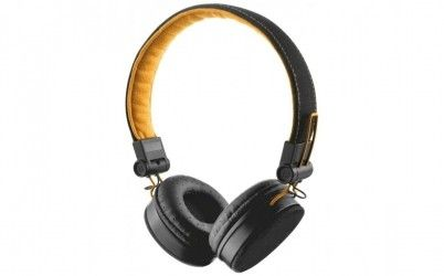 Наушники Trust Urban Revolt Fyber Headphone Black/Orange (20079)