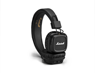 Наушники Marshall Major II Bluetooth Black (4091378)