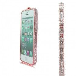 Бампер Metal Million Diamonds iPhone 6 Pink
