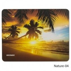 Коврик для мыши Greenwave Nature-04 S Black/Orange (R0004739)