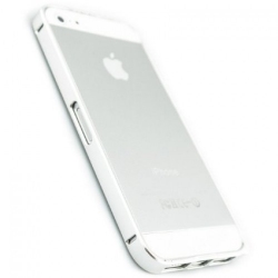 Бампер Metalic Slim Elegant iPhone 5 Silver