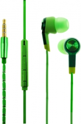 Наушники TOTO Earphone Mi5 Metal Green