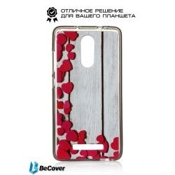 Накладка BeCover для Xiaomi Redmi Note 3 Hearts (701205)