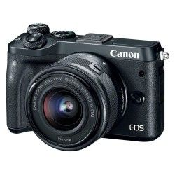 Фотоаппарат Canon EOS M6 15-45 IS STM Black (1724C043AA)