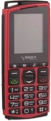 Мобильный телефон Sigma mobile Comfort 50 Mini 4 Black-Red
