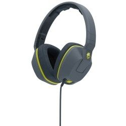 Наушники Skullcandy Crusher Mic1 Gray/Hot Lime (S6SCGY-134)
