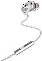 Навушники Remax RM-585 Metal Touching Earphone White