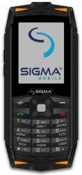 Мобильный телефон Sigma mobile X-treme DR68 Black-Orange