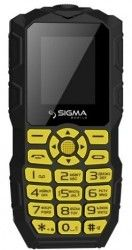 Мобильный телефон Sigma mobile X-treme IO68 Bobber Black-Yellow