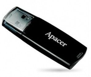 USB флеш накопитель Apacer Handy Steno AH322 4GB Black