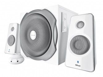 Акустическая система Trust Tytan 2.1 Subwoofer Speaker Set Bluetooth White (20024)