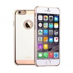 Чехол Devia iPhone 6 Star Champagne Gold