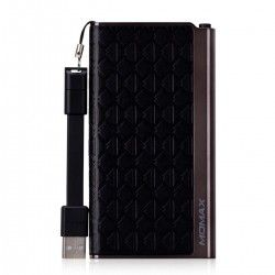 Портативная батарея MOMAX iPower Elite External Battery Pack 5000mAh Emboss Black (IP51BD)