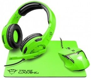 Наушники Trust GXT 790-SG Spectra Gaming Bundle Green (22463)