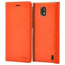 Чехол-книжка Nokia CP-304 Slim Flip Wallet Case for Nokia 2 in Brown