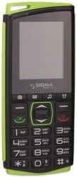 Мобильный телефон Sigma mobile Comfort 50 Mini 4 Black-Green