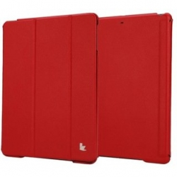 Чехол-книжка для iPad Jison Case Executive Smart Cover for iPad Air/Air 2 Red (JS-ID5-01H30)